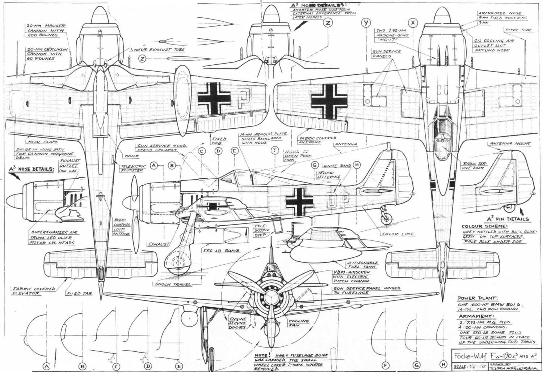 Fw 190. Открыть в полном размере