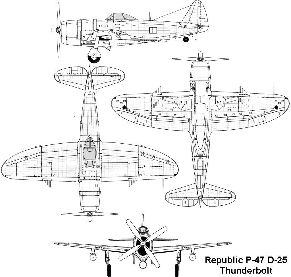 P-47. Кликните для просмотра в полном размере