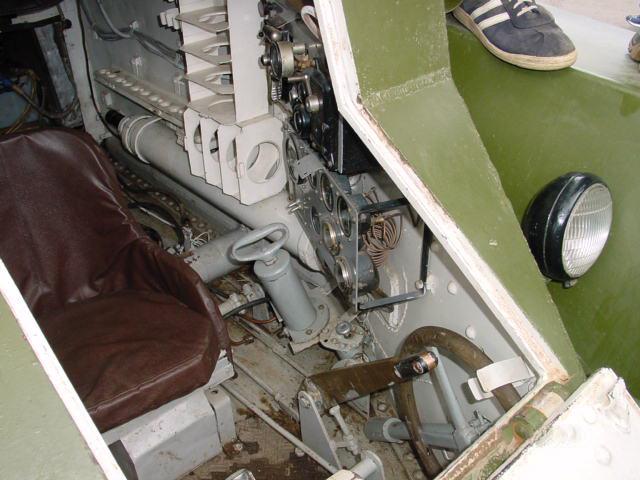 БТ-7 изнутри