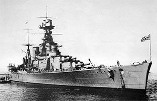 HMS Hood. Открыть в полном размере