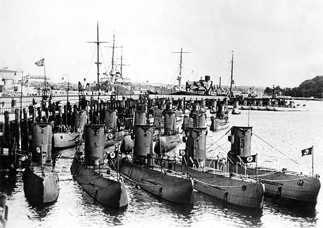 подводная лодка фашистов